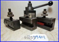 Suzuki Quick Change Tool Post With Aloris And Yuasa Holders (Inv. 39401)