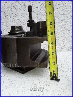 Swiss Type C 40 Position quick change Tool Post large lathe