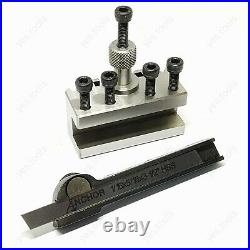 T37 Quick Change Holder + 1/16 Parting Off Tool Myford Super 7 Lathe 1/16 x 5/16