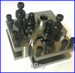 T37 Quick Change Tool Post With 2 Standard Holders