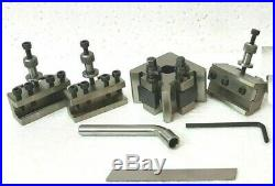 T37 Quick Change Tool post with 3 Holders Myford & Lathe 90-115 mm Center Height