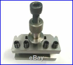 T51 Quick Change Tool Post Set With 2 Standard Holder- Boxford & Similar Lathes