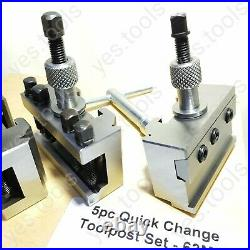 T63 Quick Change Tool Post Set Colchester Bantam 20mm Capacity Anchor Tools UK