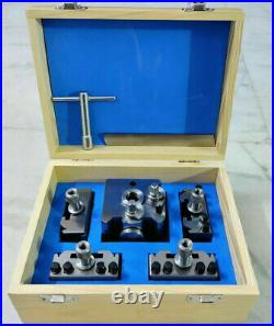 T63 Quick Change Tool Post Set Harrison, Bantams and Colchester 20mm Capacity