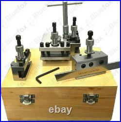 T63 Quick Change Tool Post Set Of 5 Pcs Colchester Bantam 25mm Capacity Wooden