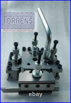 T-37 Quick Change Tool Post For Lathe 5 Pieces Set Hardened Ground Dixon type