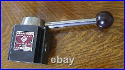 Vintage Armstrong 81-001 BXA Quick-Change Tool Post for 10 to 13 Inch Lathe