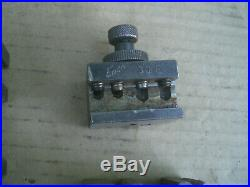 Vintage Enco Quick Change tool holders 7pcs