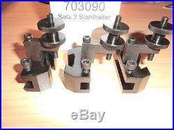 Wechselstahlhalter quick change holder n. EMCO8, Opti D480, RC 480