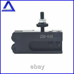 Wedge Type Quick Change Tool Post Holder Set OXA 250-000 For Mini Lathe Up to 8