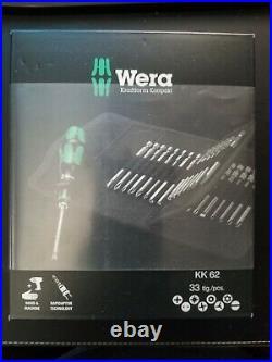 Wera Tool KK 62 Screwdriver Specialist Screw Bit Quick Release Set 33 Pc