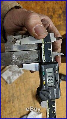 Wilson Tool Press Brake die holder 43030s 16 for 1v quick change dies