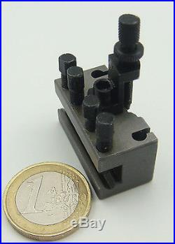 Worldwide smallest Quick Change Tool Post system Multifix QCTP size Aaa