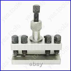 X1 T63 Quick Change Tool Holder 20mm Capacity QC Harrison Bantam Chipmaster UK