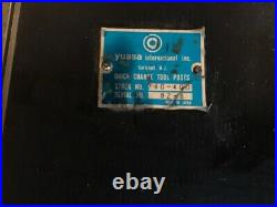 Yuasa #740-400 Ca Type Tool Post Quick Change, Plunger Style 14-20 Swing