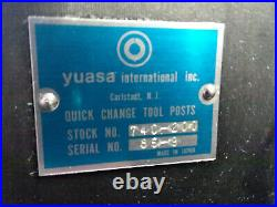 Yuasa Quick Change Tool Post (BXA Size)
