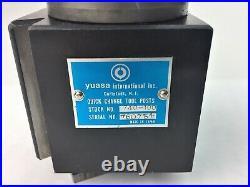 Yuasa quick change lathe tool post -Equivalent & Interchangeable with Aloris AXA